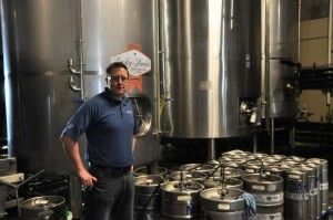 Jason Payne is the president, owner, and founder of Lucky Bucket Brewing Company. Payne credits brew pubs like Lazlo's in Lincoln's Haymarket and Upstream Brewing Company in Omaha as pioneers in the Nebraska craft beer industry. (photo by Ryan Robertson, NET News)