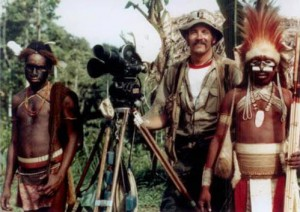 """""""Wild Kingdom"""" production crews visited 47 countries, filming in some of earth's most remote regions during the 25 years the popular program aired on television.  During the 1960's and 70's, """"Wild Kingdom"""" was watched by 34 million Americans each week.  (Photo Courtesy Don Meier)"""