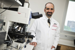 Dr. Howard Gendelman, chair of UNMC's department of Pharmacology and Experimental Neuroscience, said the study means the ability to change the immune system. (Photo Courtesy UNMC)