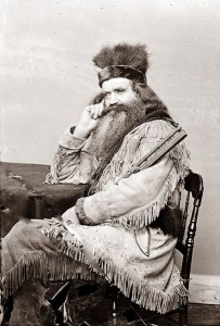 Seth Kinman a notable mountain man from the 19th century. (Photo Courtesy Wikimedia Commons)