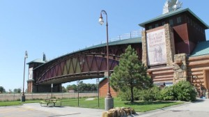 The Great Platte River Road Archway museum. (Photo by Mike Tobias, NET News)