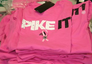 Fans are encouraged to wear pink to Friday's game. (Photo Courtesy KVNO News)