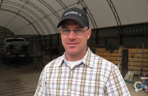 Crawford, Neb. veterinarian Rob Reid has helped ranchers document lost cattle with photographs and medical records, but isn't sure when it will ultimately lead to financial relief. (Photo by Grant Gerlock, NET News/Harvest Public Media)