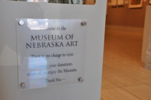Photo by Ryan Robertson, NET News Like the Joslyn Art Museum and many other art museums, the Museum of Nebraska Art in Kearney does not charge an admission fee. MONA holds the official collection of the state of Nebraska. MONA's marketing director Gina Garden said the museum participated in a variety of marketing strategies aimed at fostering a love for the arts in children.