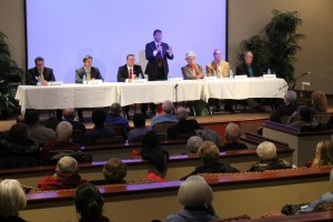 Citizen's Connected Senate candidate forum in Lincoln on Jan. 21.