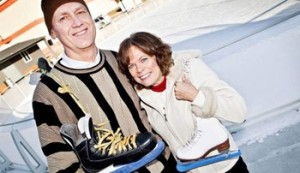 Ted and Colleen Weubben started the Skate-a-thon to raise money for Parkinson's disease research. (Photo Courtesy UNMC)