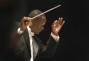 Omaha Symphony Music Director Thomas Wilkins