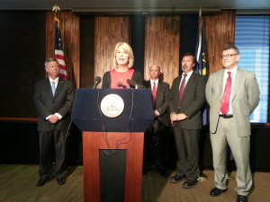 Omaha Mayor Jean Stothert looks to improve oversight of the Omaha Police department. (Photo Courtesy KVNO)
