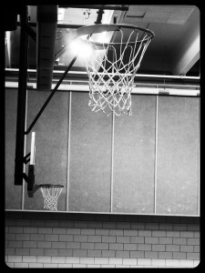 """""""It's more than just a game, it's a way of life."""" This photograph was taken by one of the youth participating in the PhotoVoice Project. The youth is part of the juvenile justice system, and is not being identified. (Photo Courtesy Ryan Robertson/NET News)"""