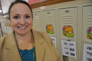 Katy Cattlett is the supervisor of Dual Langauge and World Languages for Omaha Public Schools. Cattlett was also a dual language teacher at one time. She says the research into dual language programs overwhelmingly shows a positive impact in all facets of learning. (Photo by Ryan Robertson/NET News)