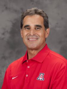 Arizona head coach Andy Lopez won the 2012 CWS title. (Photo Courtesy University of Arizona Athletics)