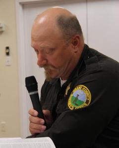 Grant County Sheriff Shawn Hebbert (Photo: Bill Kelly/NET News)