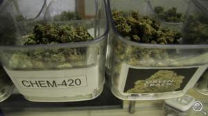 Legal marijuana on sale in Sedgwick, Colorado (Photo: Bill Kelly/NET News)