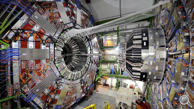 "(The Large Hadron Collider in Switzerland) To preview the upcoming PBS NOVA documentary ""Big Bang Machine"" NET's Ben Bohall talked with UNL physicist Aaron Dominguez about his work with CERN and the team's recent discovery of the illusive Higgs Boson particle."
