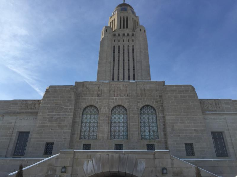 Nebraska Capitol from the east (Photo by Ryan Robertson, NET News)