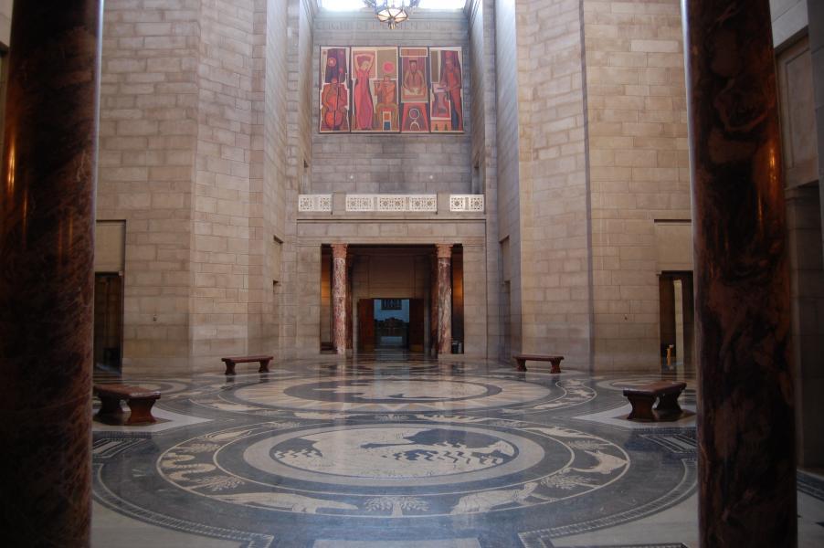 Nebraska Capitol Rotunda late Tuesday afternoon (Photo by Fred Knapp, NET News)