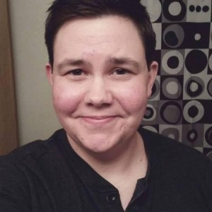 Ezra Young is a transgender 28-years-old University of Nebraska-Lincoln graduate student. He identifies as trans male and officially came out last June. (Courtesy Photo)