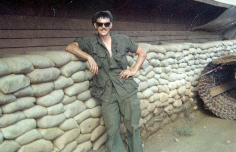 George Albright in Vietnam (Photo courtesy of George Albright)