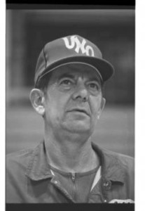 Yelkin had a career record of 439-196 as head coach at then Omaha University (Photo Courtesy Durham Museum Photo Archive)