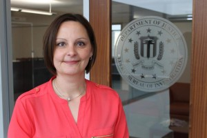 Carrie Sawicki - special agent, FBI Omaha Division (photo by Mike Tobias, NET News)