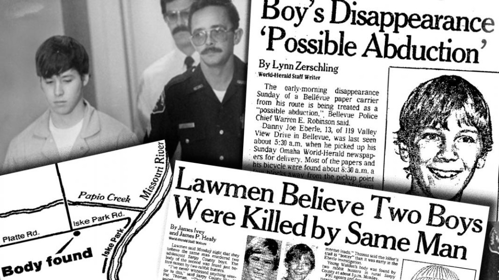 1983 coverage of the Joubert murder in the Omaha World Herald.