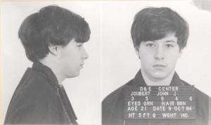 John Joubert's first prison mug shot. (Courtesy Department of Corrections)
