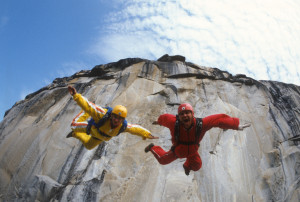 Jean and Carl Boenish in SUNSHINE SUPERMAN, a Magnolia Pictures release. Photo courtesy of Magnolia Pictures.