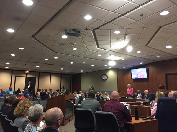 The Omaha City Council has until August 11th to decide to approve or reject the Mayor's annexation plan. (Photo by Ryan Robertson, KVNO News)