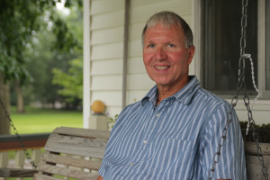 Craig Pfantz, who served as his district's soil conservation commissioner for 16 years, enrolled in Unilever's Sustainable Soy program when it started three years ago. (Abby Wendle/Harvest Public Media)
