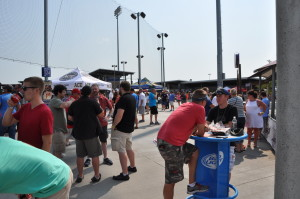 The 7th Annual Great Nebraska Beerfest was held at Werner Park in August. More than 90 brewers from across the country attended. (Photo by Ryan Robertson, KVNO News)