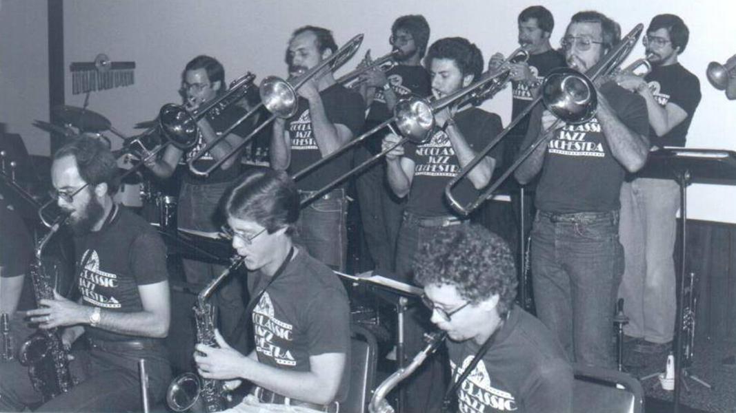 Nebraska Jazz Orchestra, circa 1975
