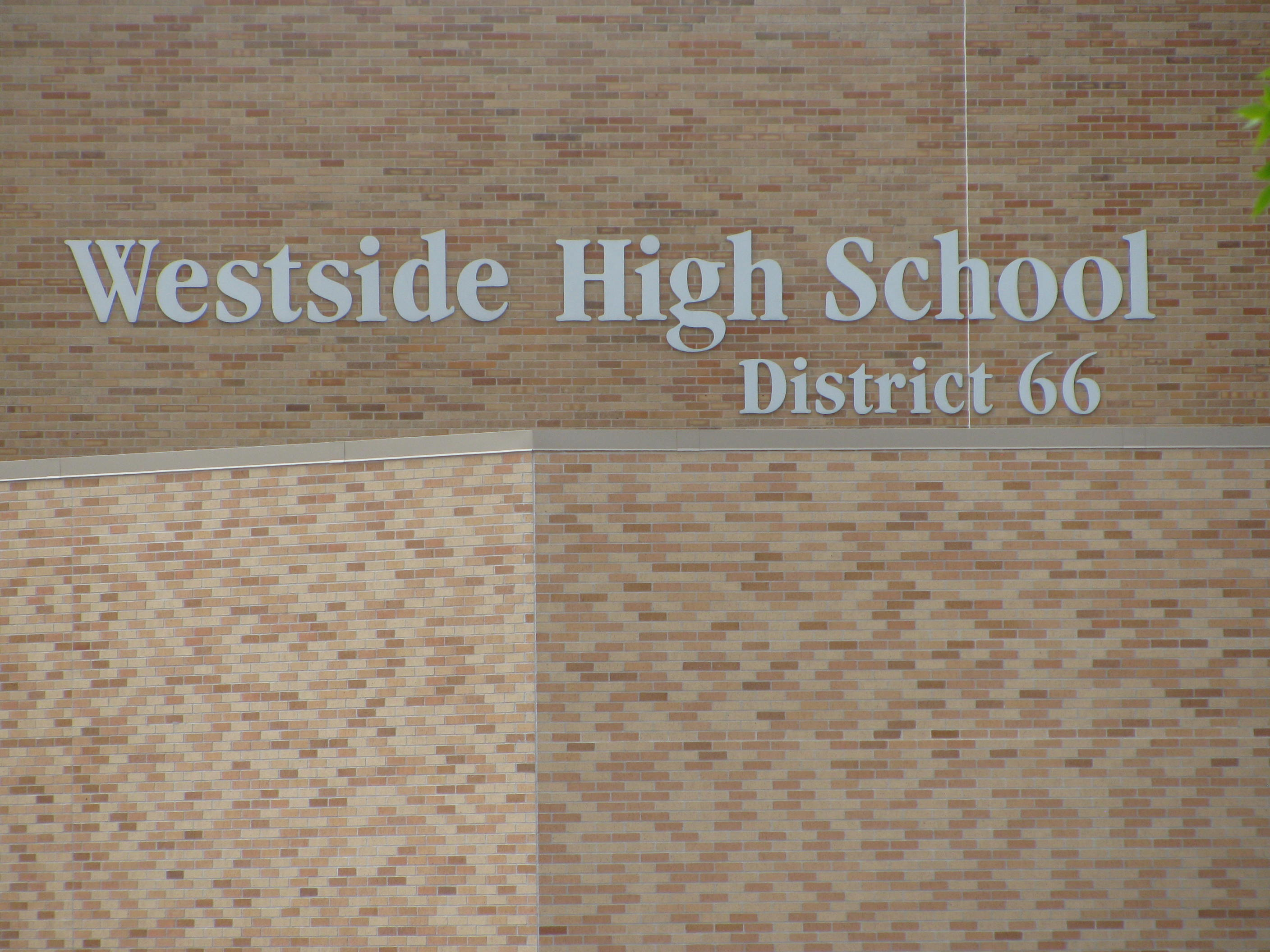 Westside High School near 87th and Pacific Streets in Omaha offers students taking civics courses the chance to take part in the a 'Political Campaign.'