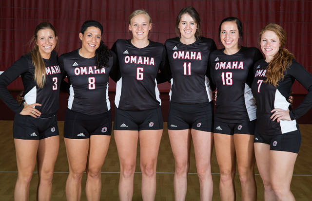Maverick seniors have given Mavs a boost in the standings. (Photo Courtesy UNO Athletics)