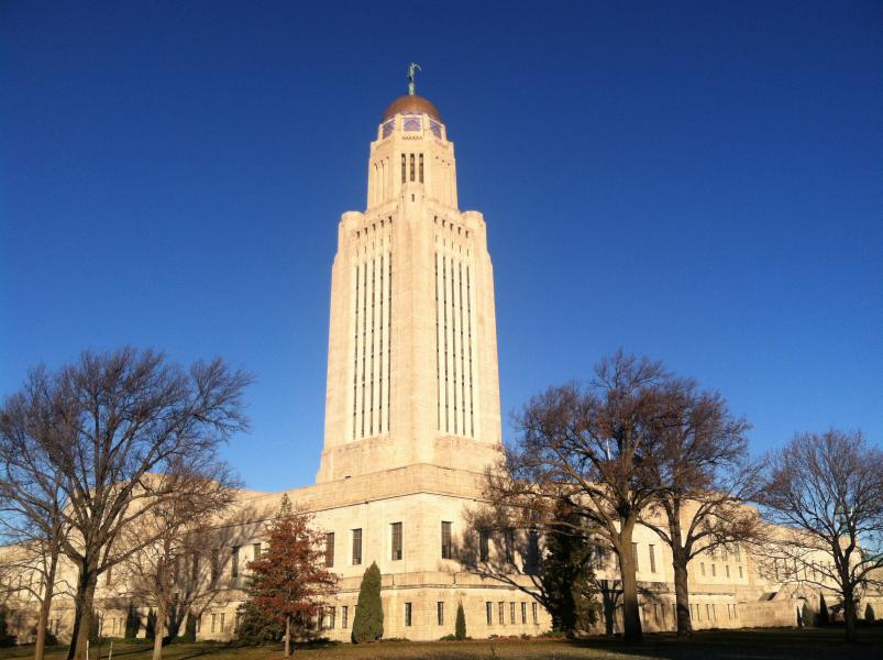Nebraska lawmakers are wrestling with property taxes and school funding. (Photo by Fred Knapp, NET News)