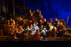 """Opera Omaha's production of """"Girl of the Golden West"""""""