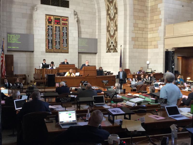 The Nebraska Legislature considers liability in police chases (Photo by Fred Knapp, NET News)