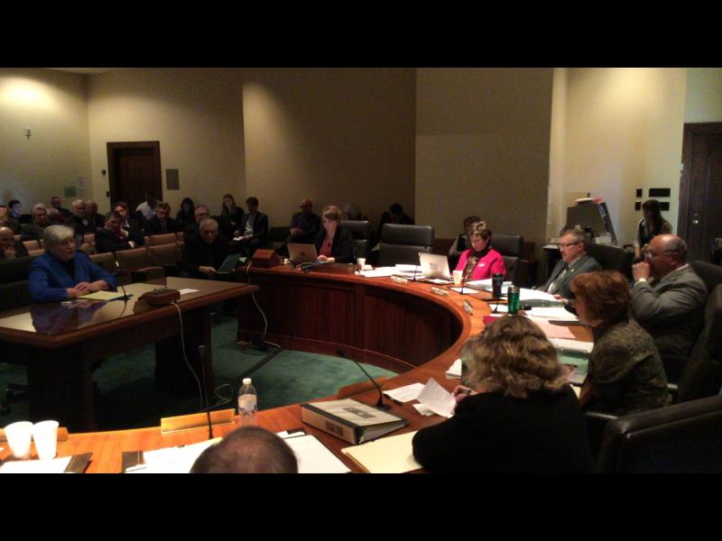 Nebraska Legislature's Education Committee hears property tax views (Photo by Fred Knapp, NET News)