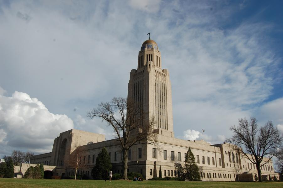 Nebraska Capitol from the northwest (Photo by Fred Knapp, NET News)