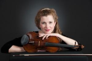 Concertmaster Susanna Perry Gilmore