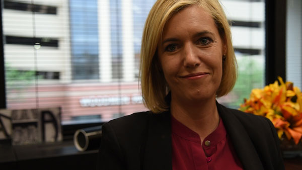 Omaha City Councilwoman Aimee Melton represents the City's 7th District. (Photo by Ryan Robertson, KVNO News)