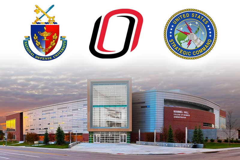 The UNO-USSTRATCOM-NDU partnership includes a 10-week course which is underway at Mammel Hall. (Courtesy UNO)