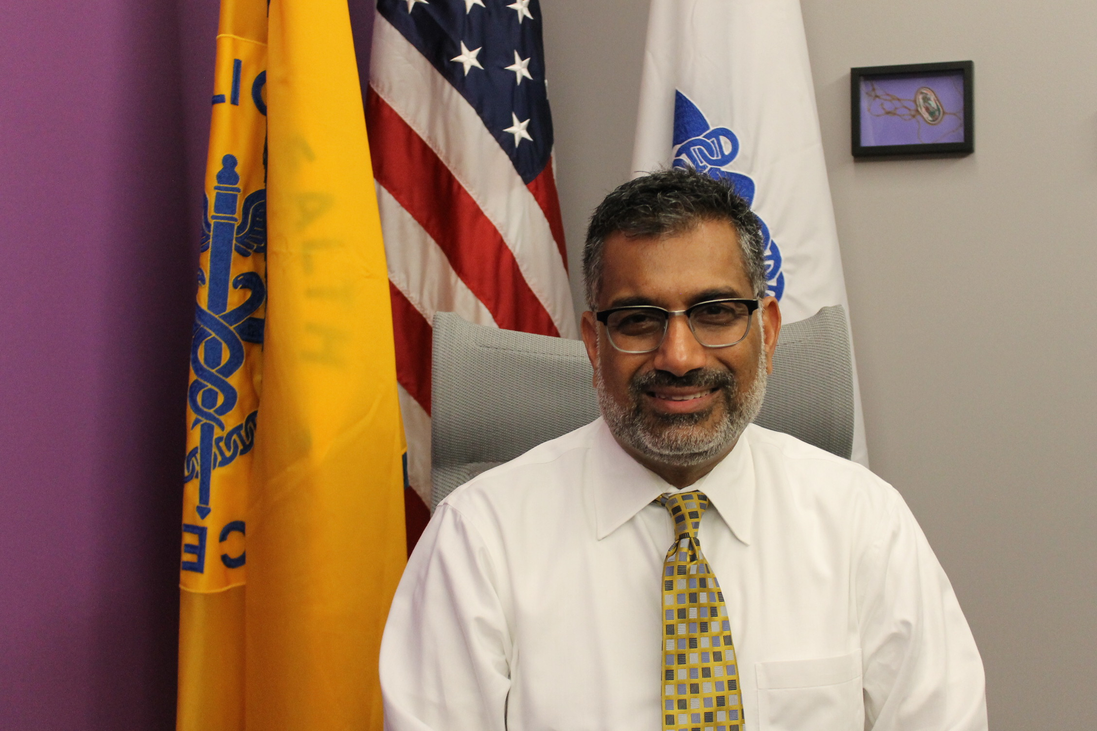 Dr. Ali Khan has worked all around the world fighting infectious disease. (Photo by Brandon McDermott)