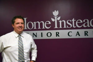 Mark Goetz is the Managing Director of Home Instead's Omaha branch. (Photo by Ryan Robertson, KVNO News)