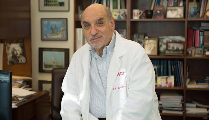 Irving Zucker, Ph.D. (Photo courtesy UNMC)